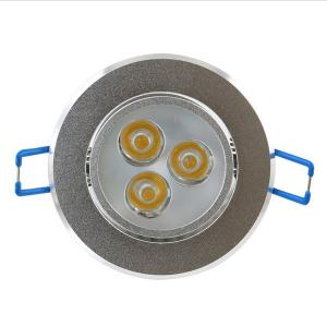 China 110V 3W LED Ceiling Downlights / LED Ceiling Fixtures For Stage , No Lead on sale