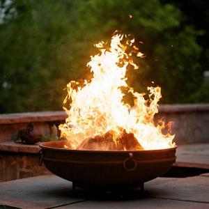 China Custom Outdoor Corten Fire Pit Backyard Camping Brazier Heater on sale