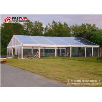 Wonderful Clear Span Large Pvc Tent , Big Party Tents For Rent Tear Resistant