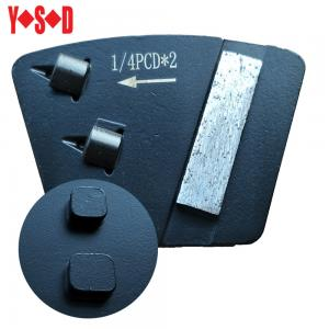 China Trapezoid Double Quarter Round PCD with 16/18 grit diamond segment bar for STI grinding machine on sale