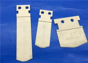 China Semiconductor Ceramic Chuck / Ceramic End Effector For Deposition And Ion Implant Machine on sale