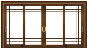 China Small Sliding Glass Doors Replacement / Aluminum Sliding Doors For Patio on sale