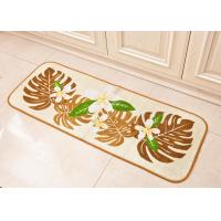 MONSUTERA & Turtle style customized Printed Floor Mats for kitchen room / bedroom Washable