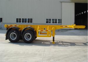 China SHENGRUN Container Trailer Chassis 40FT with Interchangeable king pin on sale