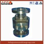 China Manul Flange Ansi 300# Duplex Stainless Steel F55 Soft Seal Ball Valve wholesale