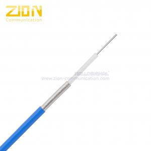 China 670 - 141 Semi Flexible Cable, Silver Plated CCS Conductor with PTFE Dielectric on sale