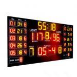 Customized Luxury Multi LED Basketball Scoreboard For Basketball Sporting