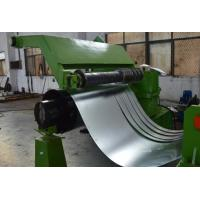 380V 50Hz 3 Phase Cold Coil Steel Slitting Lines 30m / Minute Green Color