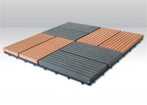 China Wood  Plastic Composite Portable Anti-slip DIY Decking Flooring on sale