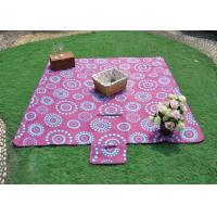 Portable Multi - purpose Outdoor Picnic Blanket waterproof , baby / kids picnic blanket