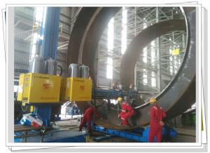 China Dual Head Dual Wire Weld Manipulator For T Type Stiffening Ring SAW Welding on sale