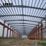 prefabricated industrial steel structure warehouse / industrial shed building for sale