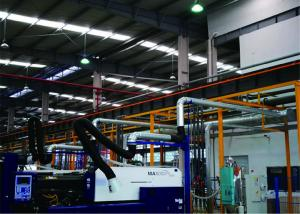 China 200 Mm Dia Welding Extraction Arm, 2m Extended Rod Dust Fume Exhaust Arm on sale