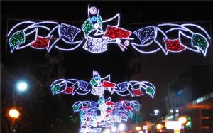 China Christmas street light decoration on sale