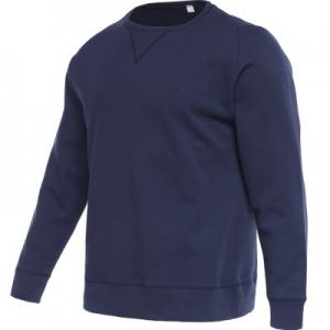 China Crew Neck Long Sleeve Sweatshirt , Mens Sports Pullovers Oversized Breathable Blank Cotton on sale