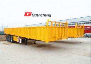 China Tri axle wallside 40 ft 3 axle sidewall semi trailer for cargo transportation on sale