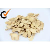 China Yellow Organic Dried Ginger Slices No Additives ISO FDA Approval on sale