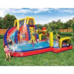 China Children Slide Inflatable Waterpark Waterproof Climb And Sport Playing wholesale