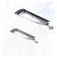 China High Quality IP67 Waterproof Aluminum Motion Sensor Remote Control 200W Solar Street Light Integrated on sale