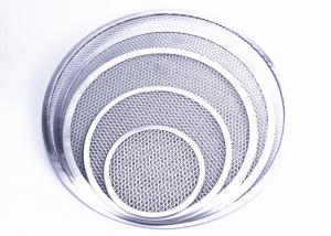 China Round Type Aluminum Expanded Mesh Pizza Pan 678910111213141516 on sale