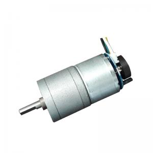 China Small DC Gear Motor Encoder 3V 6V 12V Robot 14RPM No Load Speed Stable Performance on sale