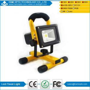 China Rechargeable 20W LED Flood Spot Work Lamp Camping Torch 18650 Safety Warning on sale