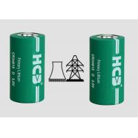 Primary 22000mAh Spiral 3V Mno2 Lithium Ion Battery , Cylindrical Cell For Oil