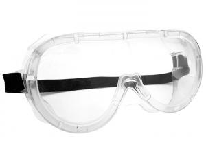China Uv Protection Safety Goggles For Laboratory , PVC / PC Medical Safety Goggles on sale
