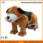 Battery Operated Motorized Stuffed Rides on Toys for kids and adult-Dog