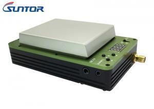 China Frequência ultraelevada sem fio compacta 30km 400mw do transmissor de COFDM para transmissão movente on sale