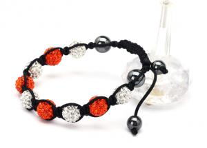 China Crystal Shamballa Bead Bracelet crystal bead bracelets  NP10013-2361 on sale