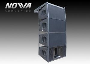 China 700W Professional Speaker System , 10 Inch Powered Line Array Speakers For Living Event on sale