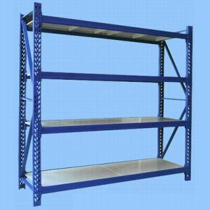 China PVC Powder Coated Storage Packing Steel Store Display Shelves For Shop, Supermarket on sale