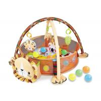 China Portable Baby Gym Playmat Children's Play Toys W / Balls Protective Fence 30 Inch on sale