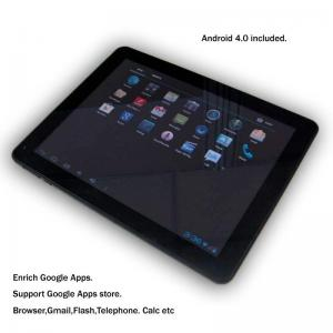 China Silver Multi-Languages 1080P Touchpad Tablet PC Built-in WiFi on sale
