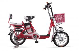 China Lady , Students Lithium Bicycle Small Electric Bikes With Removable Battery Box on sale
