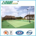 アクリルのテニス コートの表面の屋外のフロアーリングによってカスタマイズされる最高耐久性