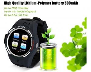 Quality Kid's GPS tracking watch phone GPS with wifi and SOS emergency calling for sale
