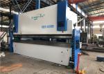 400 Ton 6m Cnc Hydraulic Press Brake Machine With Flat Floor No Foundation