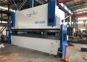 China 400 Ton 6m Cnc Hydraulic Press Brake Machine With Flat Floor No Foundation on sale