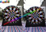 2.5m High Inflatable Sports Games Inflatable Dart Board Target For Sports