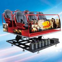 Guangzhou Sunfun hot sale 5D cinema system 6 seats, free 5D movie offered