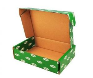 China Moistureproof Corrugated Packaging Boxes Full Color Offset Print on sale