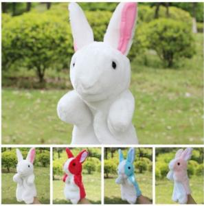 China Performance Show Stuffed Animal Hand Puppets Baby Developmental Hand Toy on sale