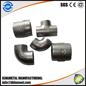 China Plain GI Cast Iron Pipe Fitting Malleable Iron Pipe Fittings on sale