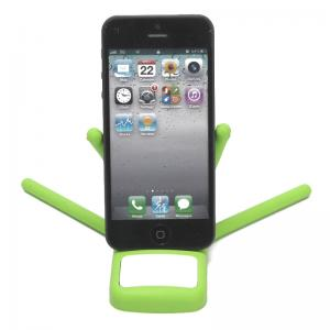 China Portable Octopus Silicone Rubber Mobile Phone Holders with Flexible Copper Lines Inside on sale