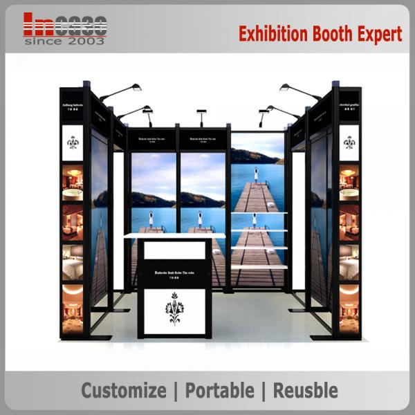 Portable Exhibition Games : Standard exhibition booth design for sale ft