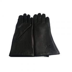 China Ladies Classic Style Imitated Deer Skin Leather Nappa Gloves on sale