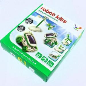 China 6 in 1 Educational DIY Solar Robot Kit Toy Boat Fan Car on sale