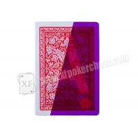 China Gambling Spain Fournier 2818 Invisible Marked Playing Cards For Poker Games on sale